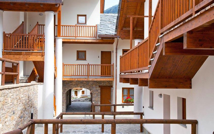 residence villaggio delle alpi in pr saint didier